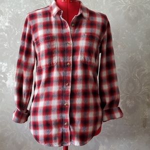 Vans Red Flannel shirt size large